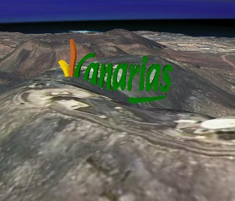 Logo en la isleta